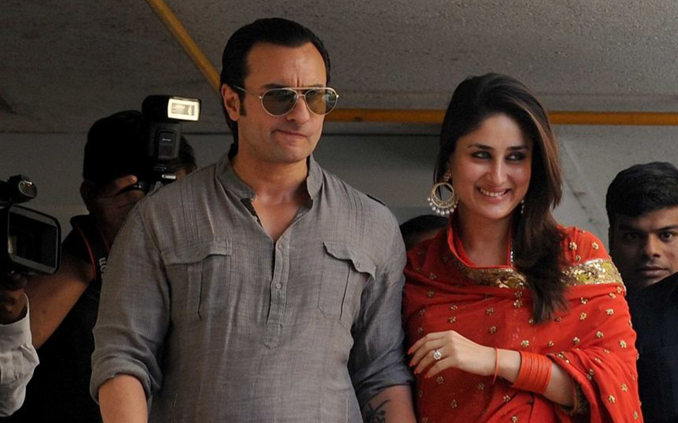 Kareena and Saif Ali Khan together in an event