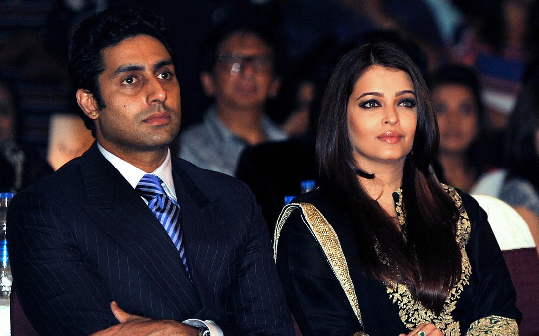 Aishwarya and Abhishek together at an event