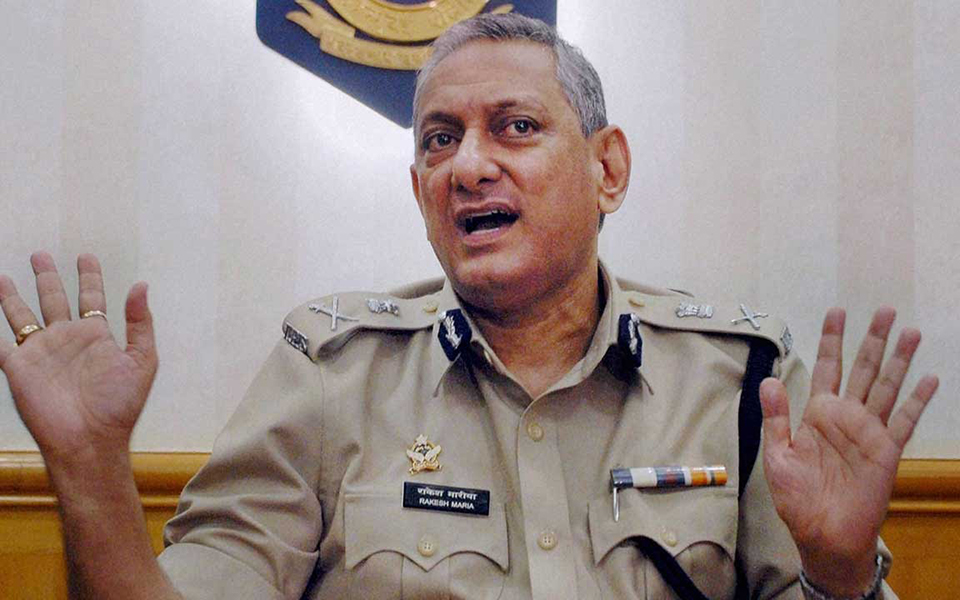 Rakesh Maria in an interview
