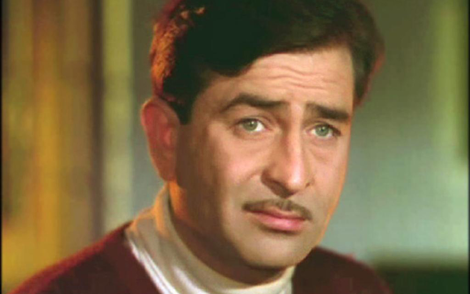 Raj Kapoor in one of his movies
