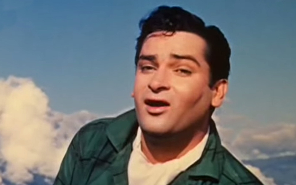 Sammi Kapoor in one of his movies