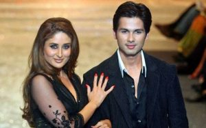 Shahid Kapoor and Kareena Kapoor dated each other for 3 years and broke up in 2007.