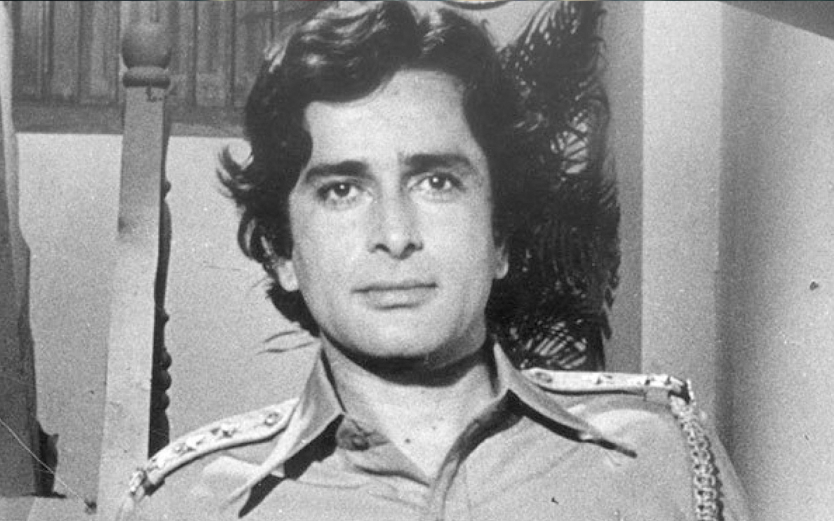 Shashi Kapoor in one of his movies