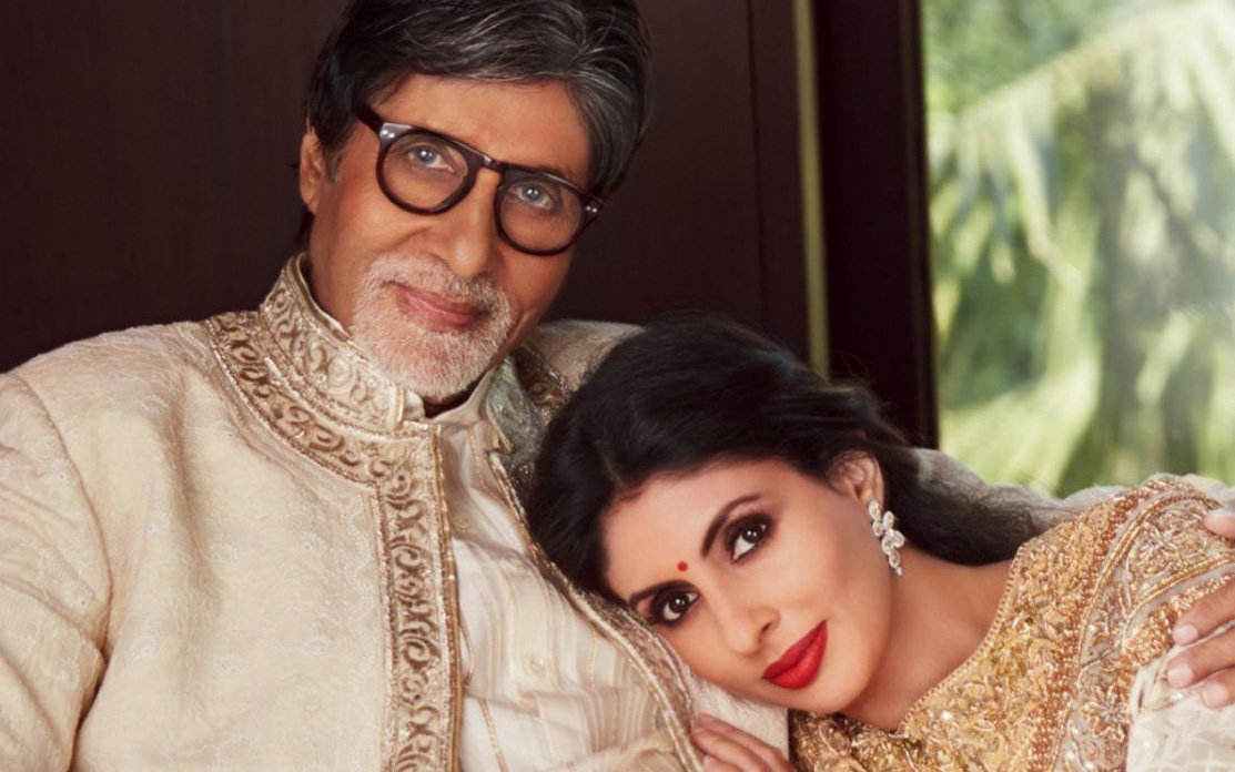 Amitabh Bachchan and Shweta Nanda share screen...