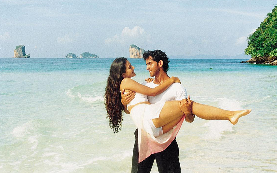 Hrithik Roshan in the movie Kaho Na Pyar Hai