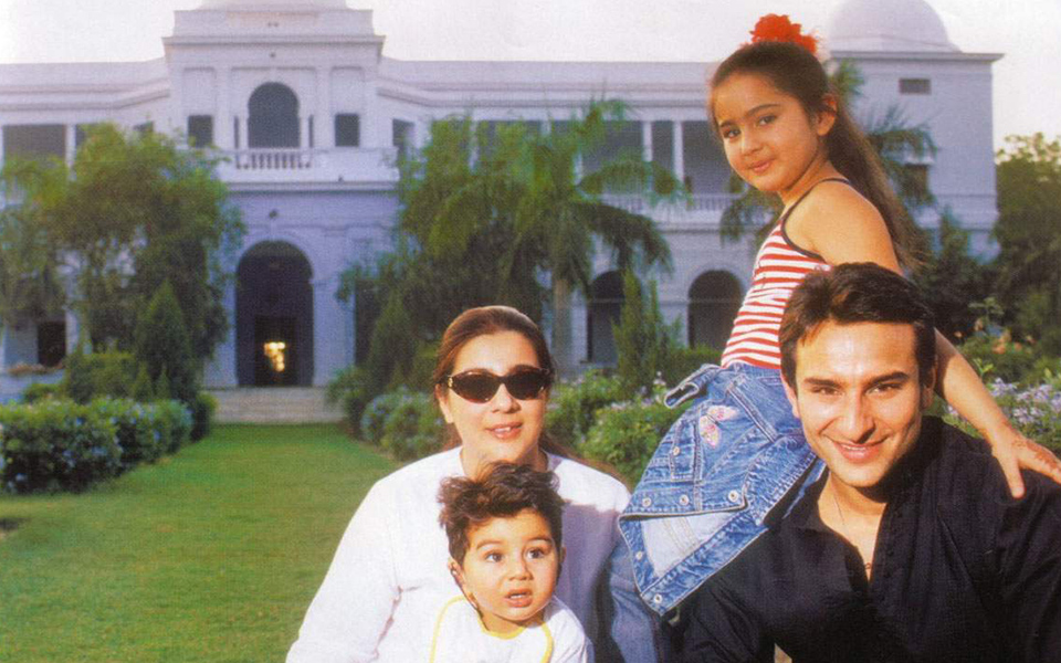 Sharmila Ali Khan with family