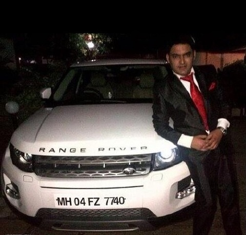 kapil sharma car