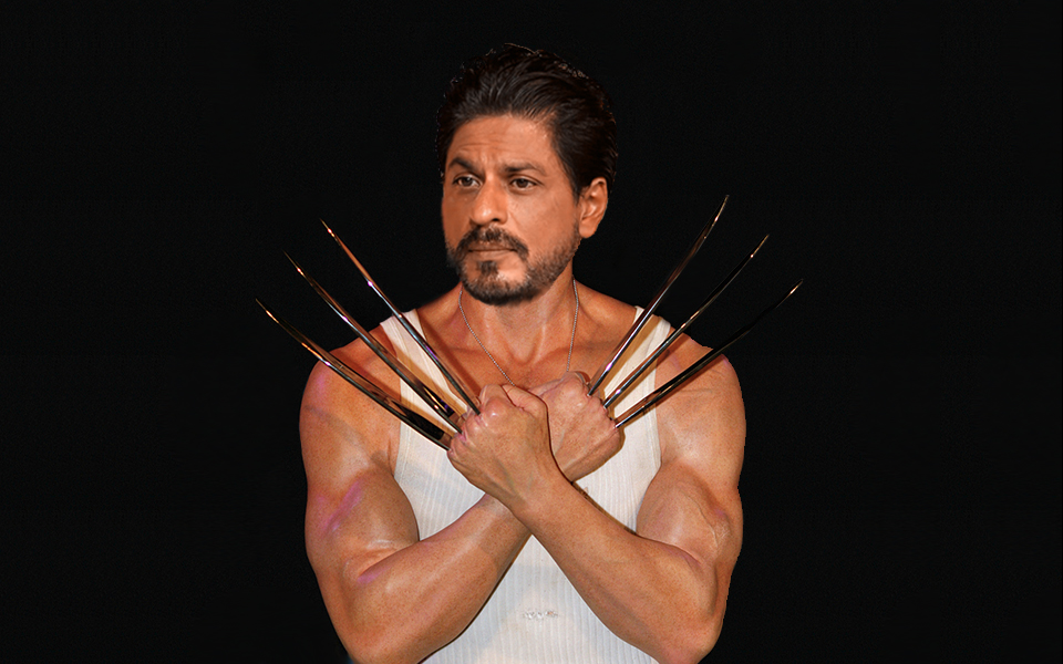 Shah Rukh Khan as Wolverine; Huge Jackman wants Sharukh to take over his role as wolverine
