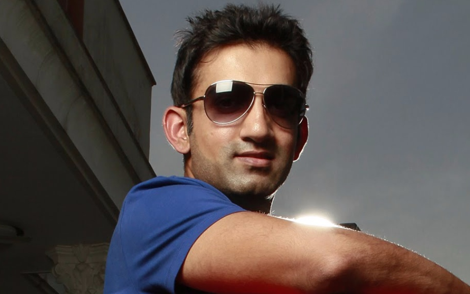 """Gautam Gambhir is Indian cricketer with height of 5'6"""" and ..."""