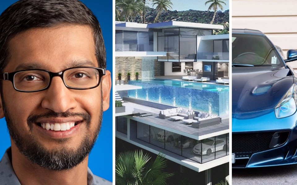 Sundar Pichai Biography Career Achievements And Net Worth Highlights India